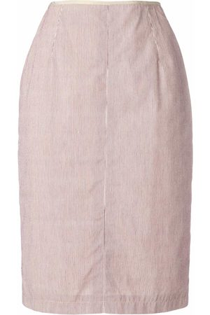 Jean Paul Gaultier Striped pencil skirt