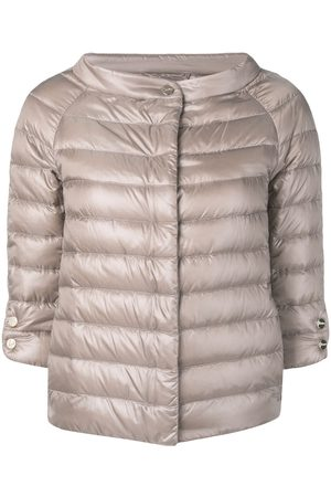 HERNO 3/4 sleeve padded jacket