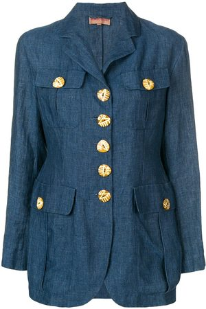 ROMEO GIGLI Oversized button blazer