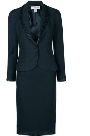 Dior Women Suits - Pre-owned braided detail skirt suit