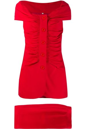 Gianfranco Ferré Gathered skirt & blouse set