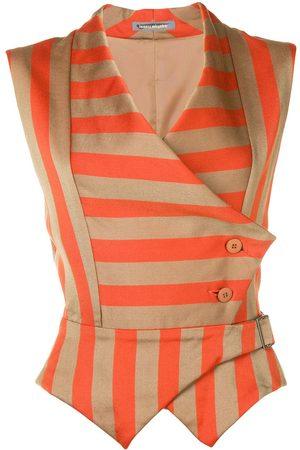 Issey Miyake Striped waistcoat