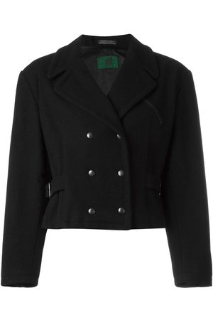 Jean Paul Gaultier Cropped double breasted jacket