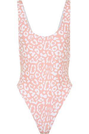 Reina Olga Women Swimsuits - Exclusive to Mytheresa – Funky leopard-print swimsuit