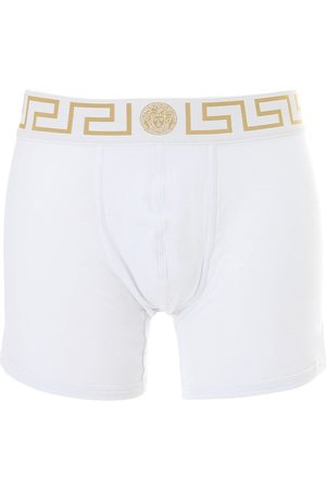 VERSACE Pack Of 2 Stretch Cotton Boxer Briefs