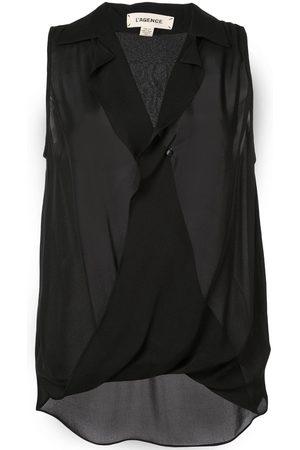 L'Agence Women Vests - Wrap front vest
