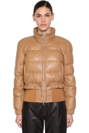 DROME Women Leather Jackets - Leather Down Jacket