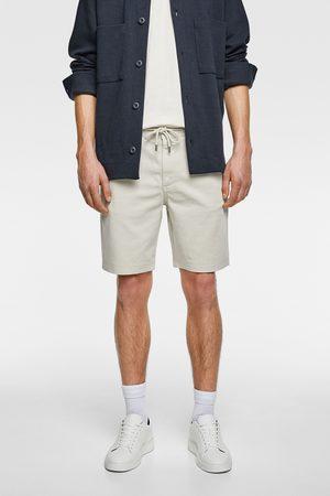 Zara Bermuda shorts with drawstrings