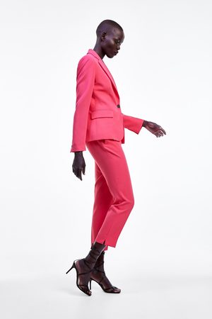 326e4327 Buy Zara Slim Trousers for Women Online   FASHIOLA.in   Compare & buy
