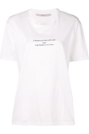 Stella McCartney Women Short Sleeve - Slogan T-shirt