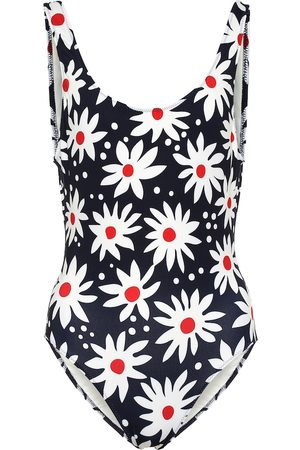 Solid & Striped Exclusive to Mytheresa – The Anne-Marie floral swimsuit
