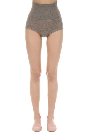 Khaite Belinda Cashmere Knit Shorts