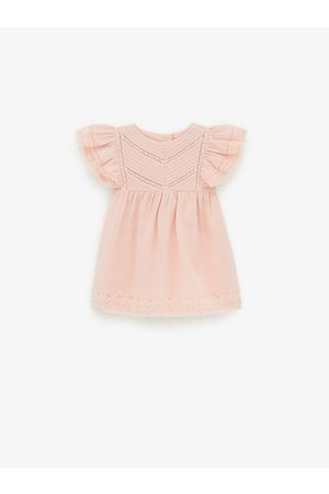Zara Romantic embroidered dress
