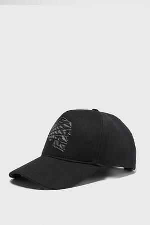 Zara Men Caps - Cap with raised skull