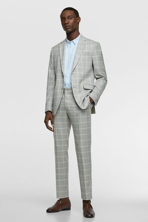 Zara Men Trousers - Check suit trousers