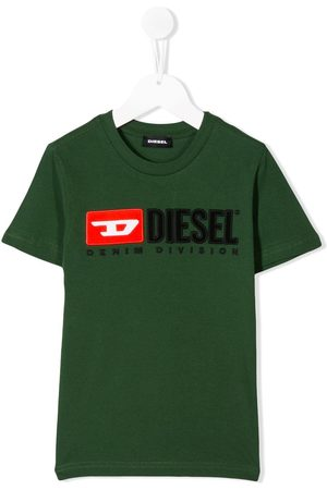 Diesel Logo embroidered T-shirt