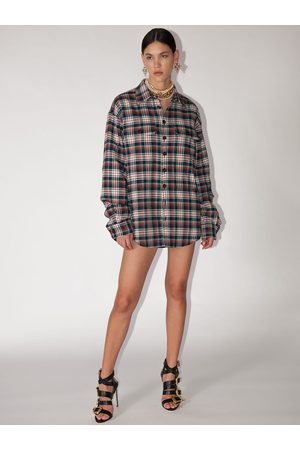 Dsquared2 Cotton Check Shirt