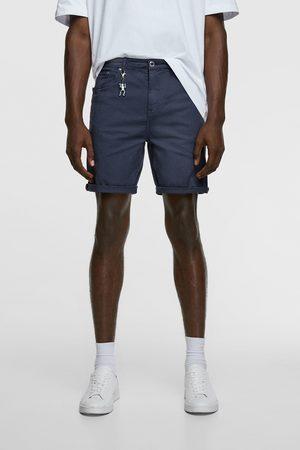Zara Men Bermudas - New skinny basic bermudas