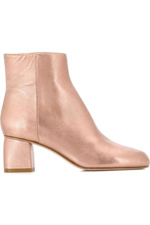 RED Valentino Women Ankle Boots - RED(V) side zip ankle boots