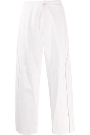 WALTER VAN BEIRENDONCK 2009/10 Glow faux leather trousers