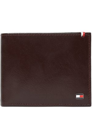 Tommy Hilfiger Men Brown Leather Solid Two Fold Wallet