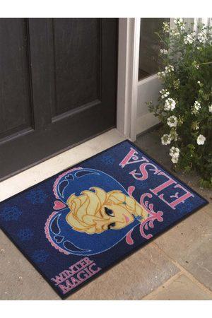 Disney Blue & Yellow Frozen Print Anti-Skid Doormat