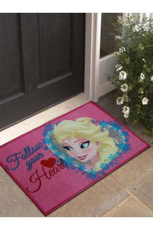 Disney Pink Frozen Print Anti-Skid Doormat