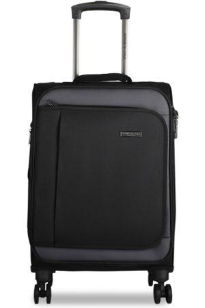 Kenneth Cole Unisex Black Solid Medium Trolley Bag