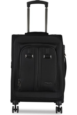 Kenneth Cole Unisex Black Solid Cabin Trolley Bag