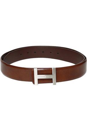 Tommy Hilfiger Men Tan Leather Belt