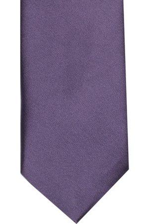 Lino Perros Purple Solid Broad Tie