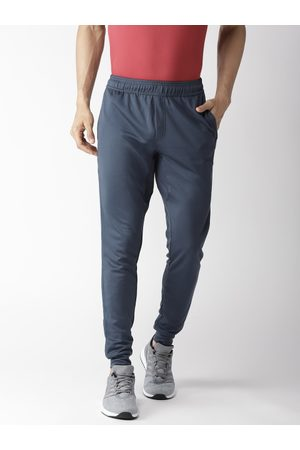 Alcis Men Joggers - Men Charcoal Grey Solid Slim Fit Joggers