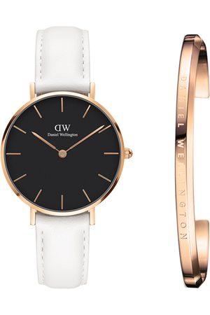 Daniel Wellington Unisex Petite Bondi Black 32mm Watch & Classic Bracelet Watch Gift Set DW00500275