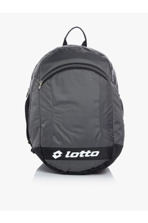 Lotto Men Grey Solid Backpack