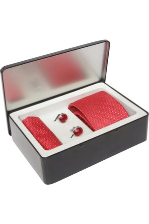 Lino Perros Men Red Accessory Gift Set