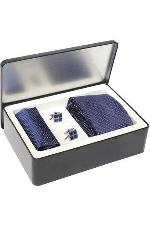 Lino Perros Men Navy Blue Accessory Gift Set