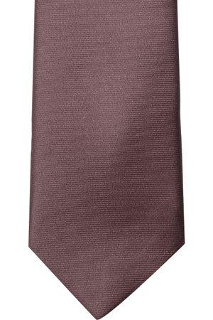 Lino Perros Brown Solid Broad Tie