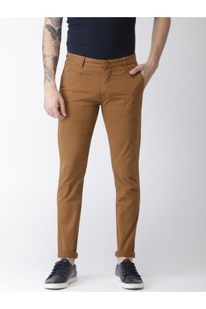 Aeropostale Men Super-Skinny Fit Solid Chinos