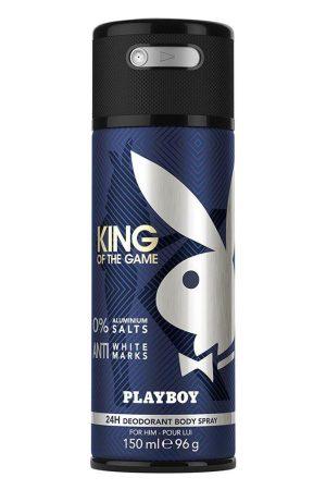 Playboy Men King Deodorant Spray 150 ml