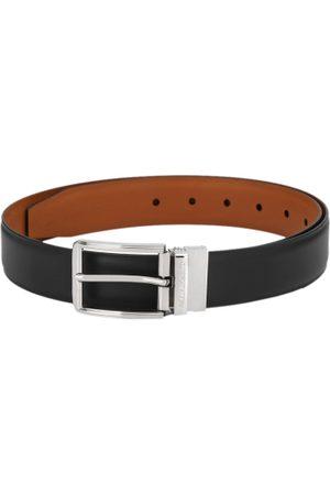 Pacific Men Black & Brown Reversible Solid Belt