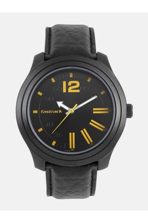 Fastrack Men Black Analogue Watch 3198AL01