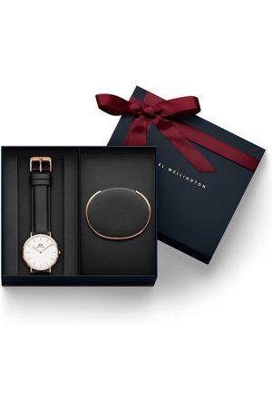 Daniel Wellington Classic Sheffield White Watch With Classic Bracelet