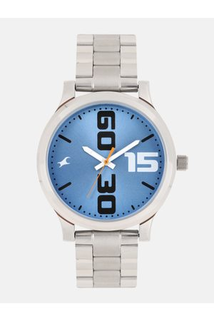 Fastrack Men Blue Analogue Watch 38051SM06
