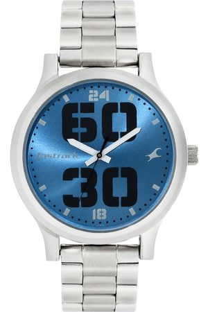 Fastrack Men Blue Analogue Watch 38051SM09