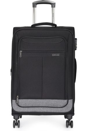 "Kenneth Cole Unisex Black Reaction 24"" Medium Trolley Suitcase"