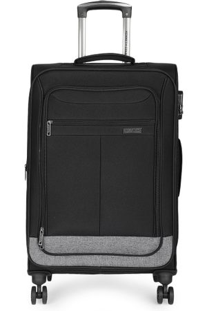 "Kenneth Cole Unisex Black Reaction 20"" Suitcase Bag"