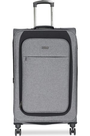 "Kenneth Cole Unisex Grey Reaction 28"" Large Trolley Suitcase"