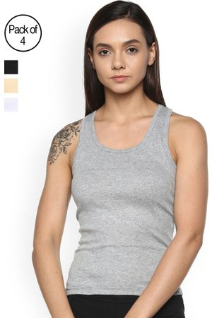Leading Lady Women Pack of 4 Camisoles m-SARA-4