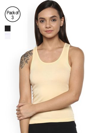 Leading Lady Women Pack of 3 Camisoles m-SARA-3