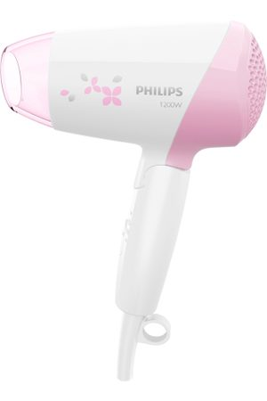Philips White & Pink Essential Care 1200 W Hair Dryer HP8120/00